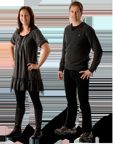 Christina och Tommy Rygh, leg sjukgymnaster